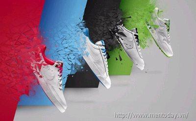 Giày nam mang sắc màu Euro 2012