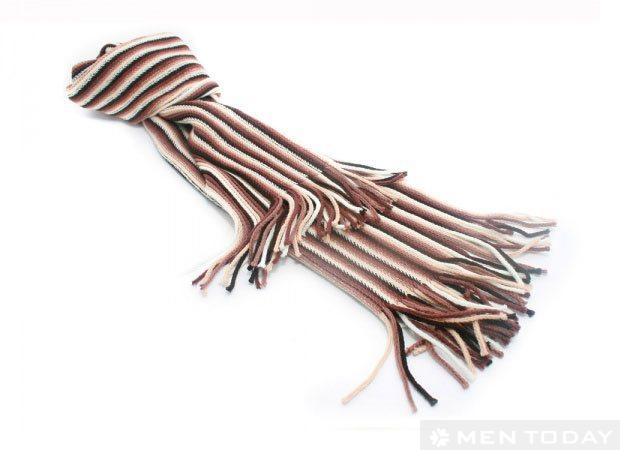 Gợi ý: Những kiểu choàng khăn đẹp dành cho nam giới