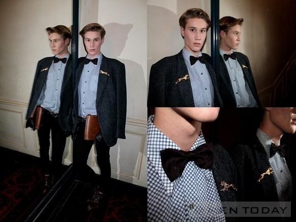 Brooch cài áo – phụ kiện hoàn hảo cho chàng trai mê vest