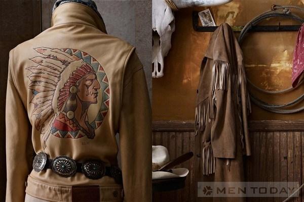 Phong cách vintage từ bst thời trang mùa đông Ralph Lauren