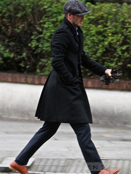 Becks điển trai phong cách khi ra phố