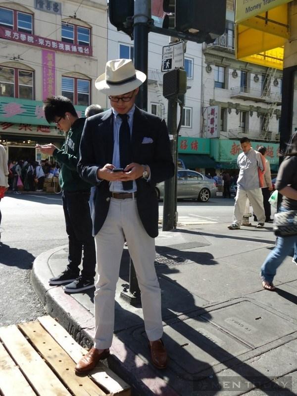 Phong cách quý ông thế giới đầu tháng 6 1