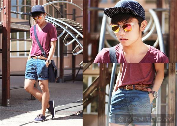Street style trẻ trung từ các chàng trai thế giới đầu tháng 6