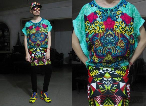 Andre Judd - Anh chàng stylist có gu thời trang cực quái
