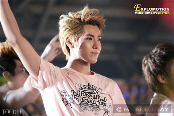 Thời trang tóc nam của thủ lĩnh nhóm EXO - Kris