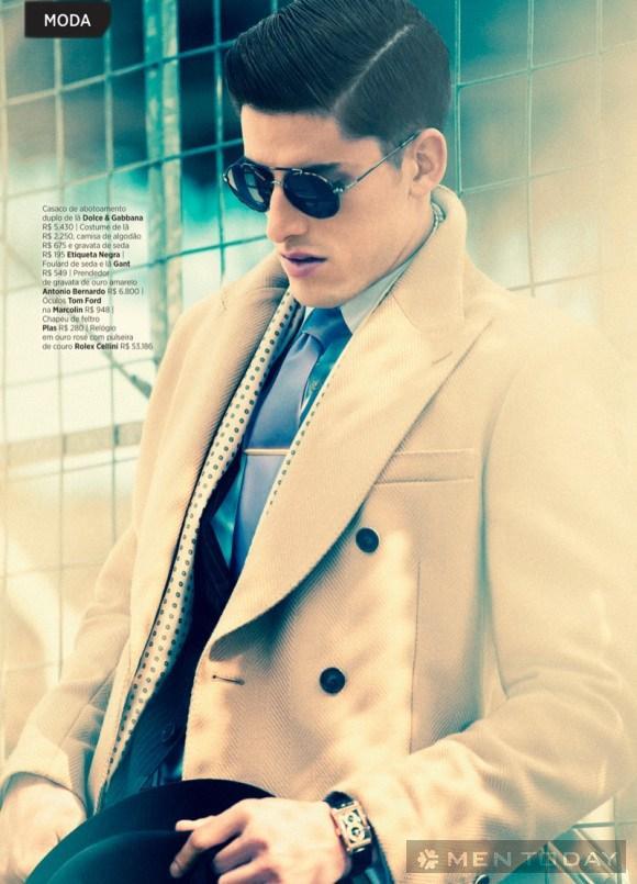 Ngắm nghía phong cách preppy trên tạp chí GQ Brazil