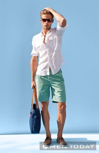 Giảm nhiệt mùa hè với trang phục xanh bạc hà