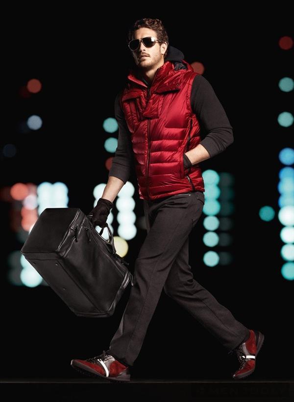 Sang trọng, nam tính với thời trang thu đông 2013 Zegna Sport