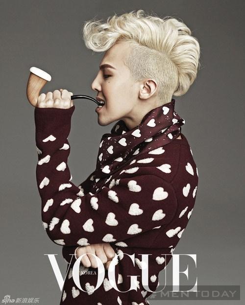 G-Dragon gây sốt khi chụp ảnh với người mẫu ngực trần