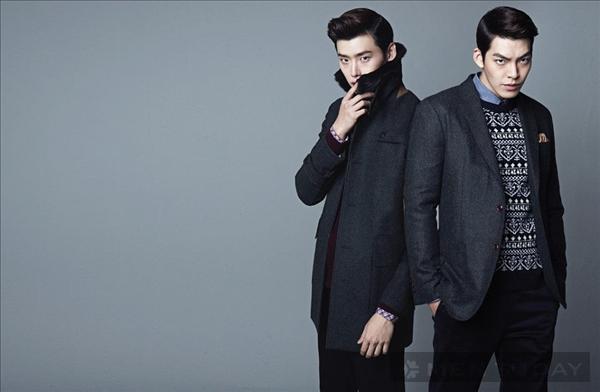 Lee Jong Suk và Kim Woo Bin quyến rũ, lịch lãm với tóc Pompadour