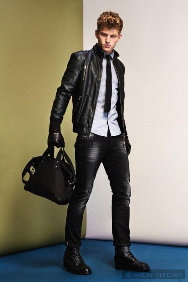 Sebastian Sauvé Và Quảng Cáo Thu/Đông 2013 Của Clockhouse - Clockhouse - Sebastian Sauvé - Thu/Đông 2013 - Chiến dịch quảng cáo - Thời trang nam - Người mẫu - Hình ảnh