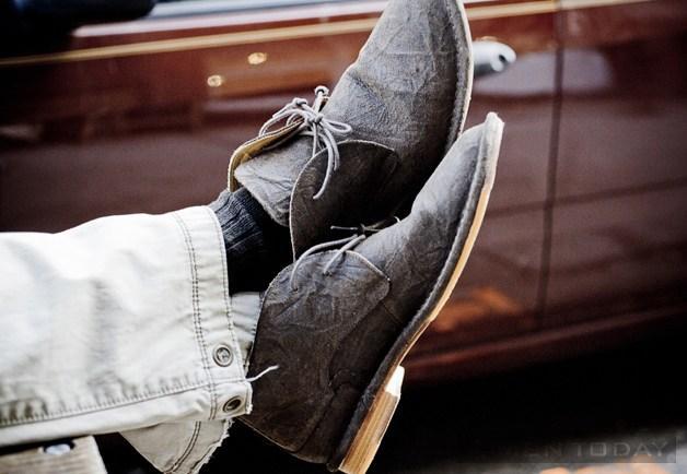 Cập nhật street style của các quý ông New York qua những đôi boots