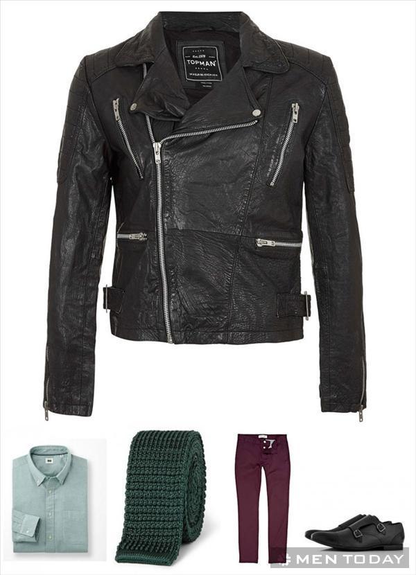 Gợi ý: Mix đồ nam đa phong cách cùng biker jacket