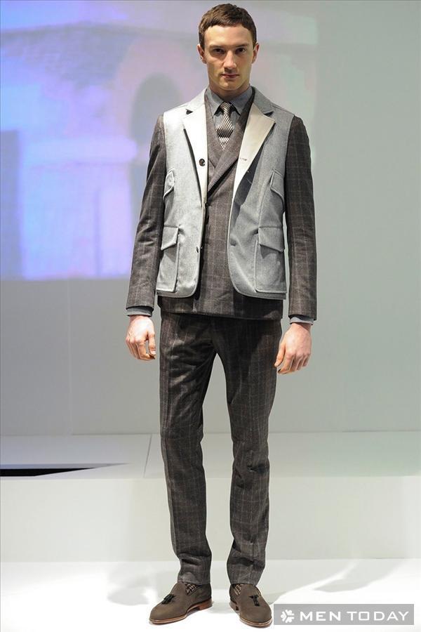 Bộ sưu tập thời trang nam thu đông 2014 của Hardy Amies | LCM
