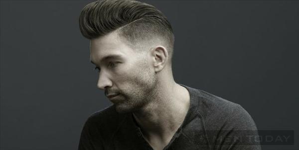 Pompadour phong cách hiện đại: Kiểu tóc hot cho nam năm 2014
