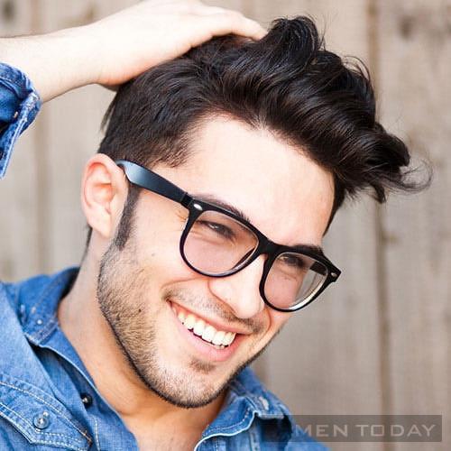 Cách tạo kiểu tóc pompadour hiện đại cho các chàng