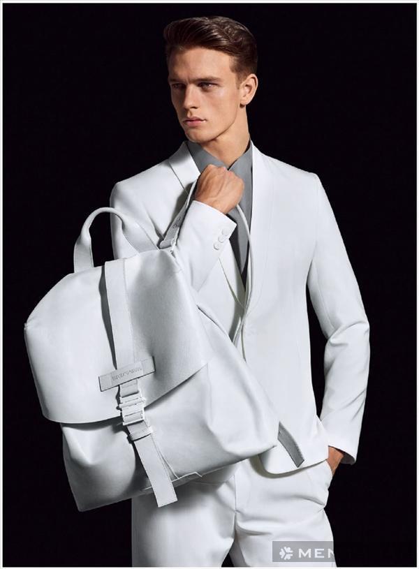 Chiến dịch thời trang nam xuân hè 2014 của Emporio Armani