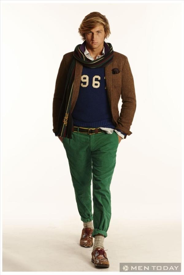 BST thời trang nam thu đông 2014 của Polo Ralph Lauren