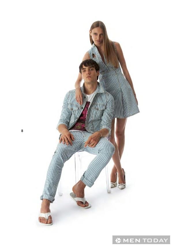 Lookbook thời trang nam xuân/hè 2014 của Versace