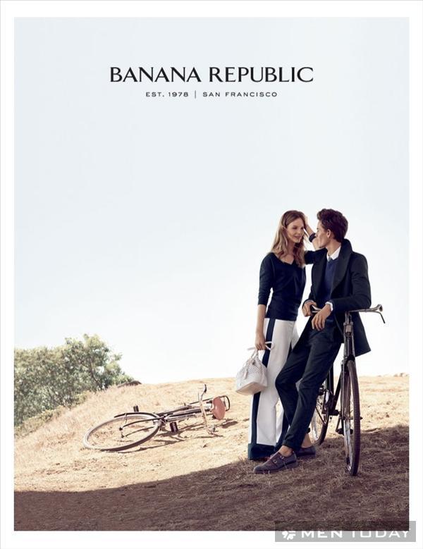 Chàng lịch lãm cùng chiến dịch xuân/hè 2014 của Banana Republic