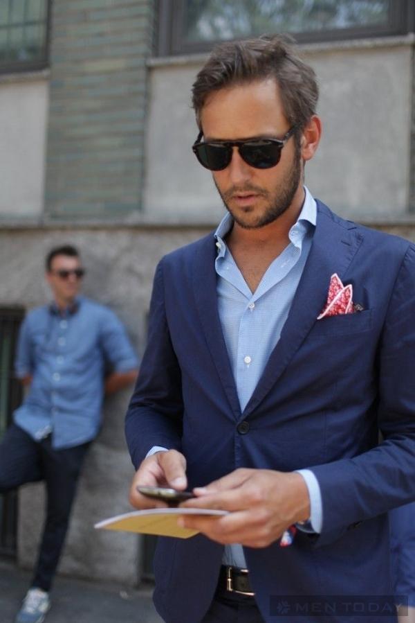 Học cách mặc blazer nam mùa hè