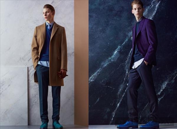 Lookbook thời trang nam thu đông 2014 của Lanvin