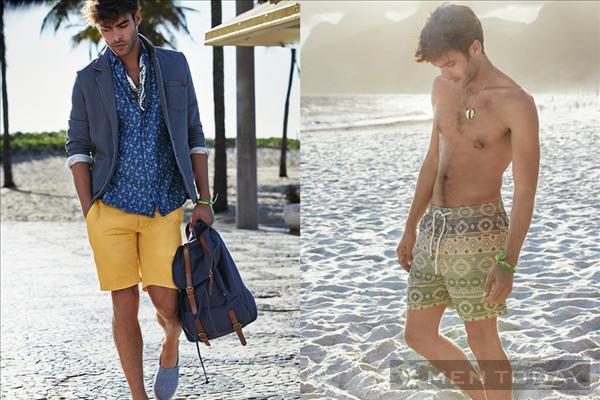 Lookbook thời trang nam xuân/hè 2014 của Pull&Bear và Tesco F&F