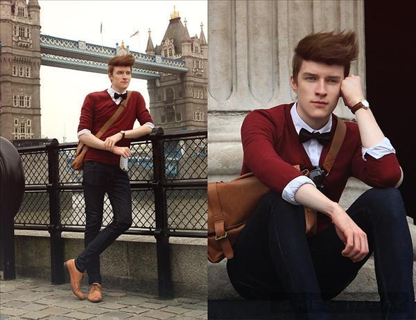 Kiểu tóc và street style trẻ trung, quyến rũ của Zoltan Sziliagyi