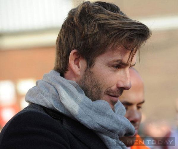 David Beckham: Quý ông dẫn đầu xu hướng tóc