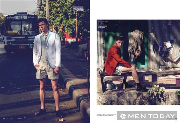 Chàng trầm mặc trên Esquire Singapore