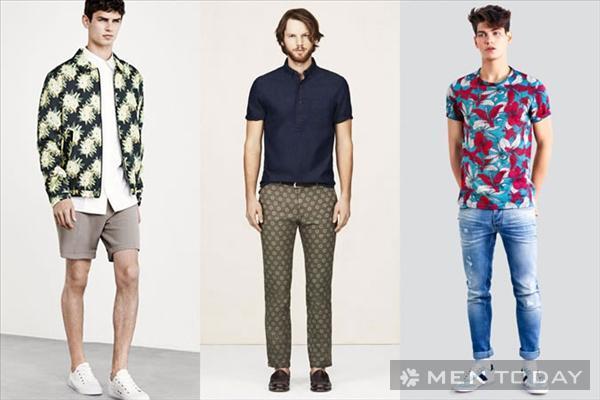 5 xu hướng thời trang táo bạo cho chàng mùa hè 2014
