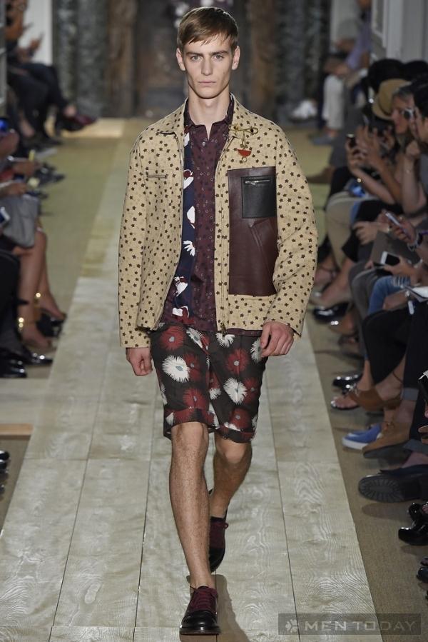 Bộ sưu tập thời trang nam xuân hè 2015 của Valentino