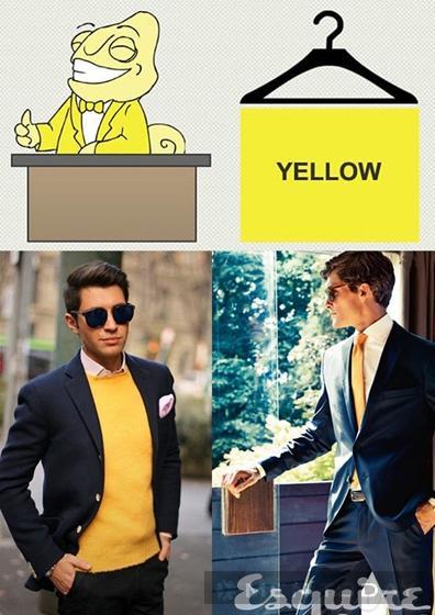 9 sắc màu trang phục thể hiện tính cách của các quý ông