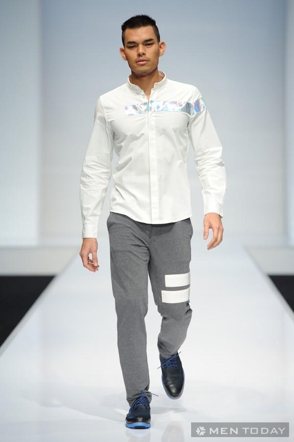 Bộ sưu tập thời trang nam thu đông 2014 của KLFW