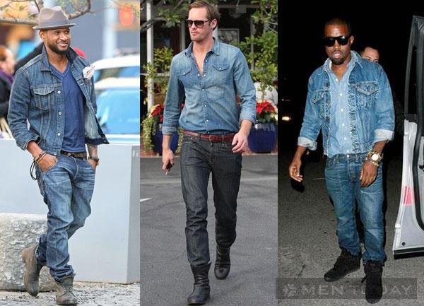Mix đồ nam đa phong cách cùng jeans