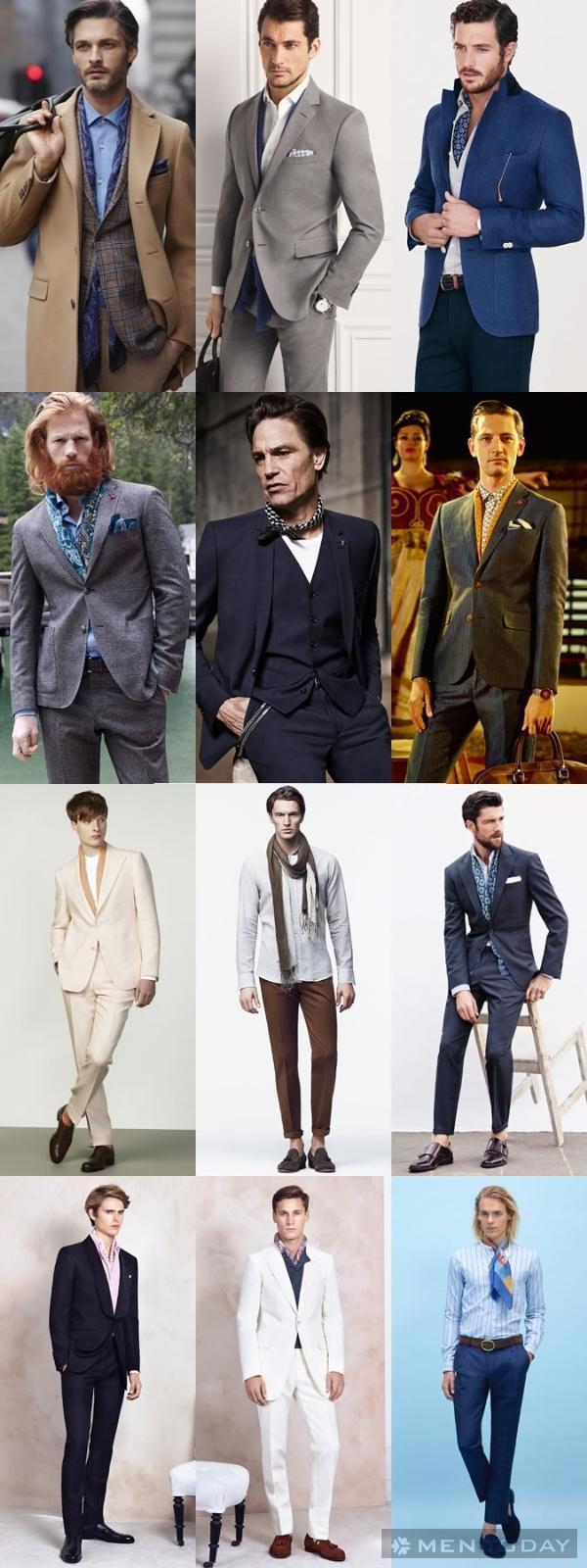 Mix đồ nam: Khi suit không cần cravat