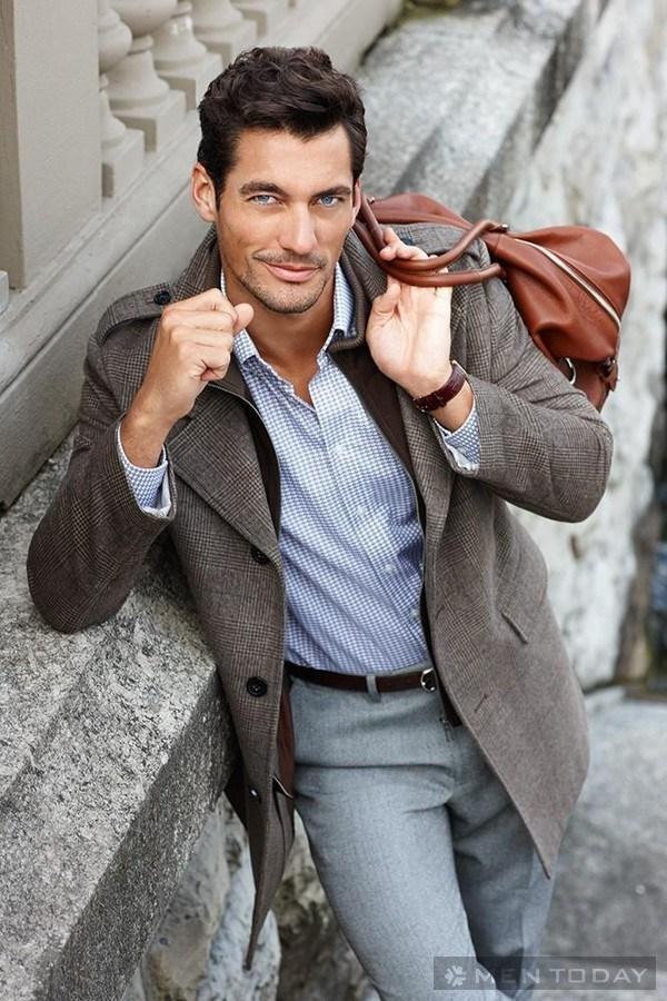 Phong cách thời trang David Gandy