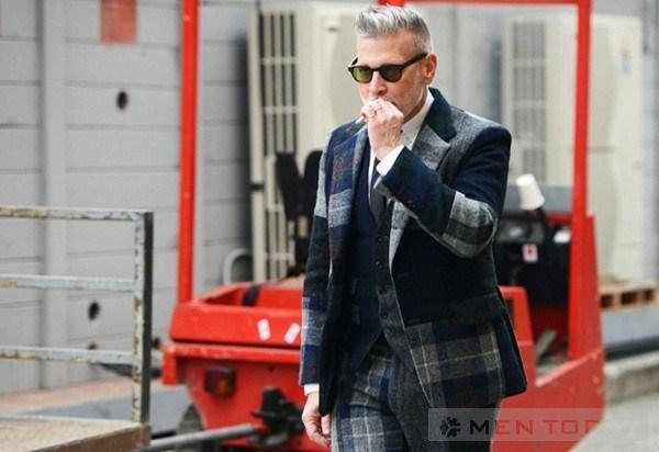 Hình ảnh tuyệt đẹp với suit của Nick Wooster