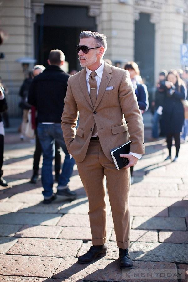 Suit cũng được Nick Wooster áp dụng phong cách này