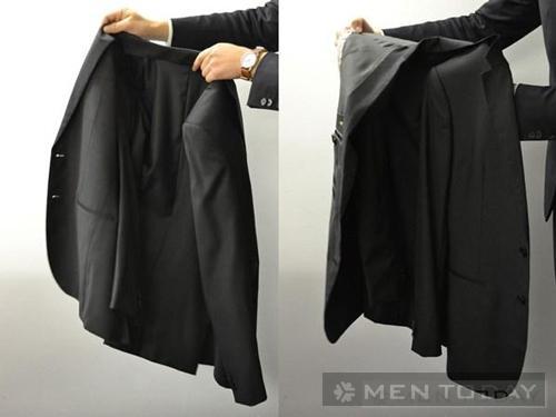 Cách gấp áo vest nam
