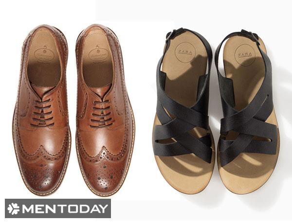 Chuẩn bị giày/sandal