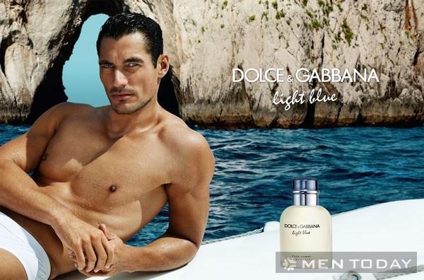 David Gandy trong chiến dịch quảng cáo nước hoa của DG