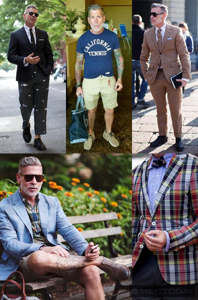 Những hình ảnh quen thuộc của biểu tượng thời trang nam Nick Wooster