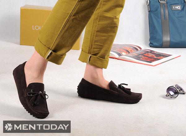 Những đôi loafers là lựa chọn phù hợp cho thời tiết nóng