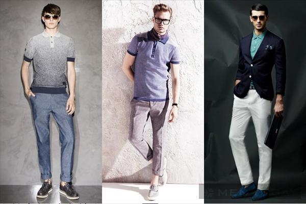 Những mẫu áo polo phong cách thanh lịch