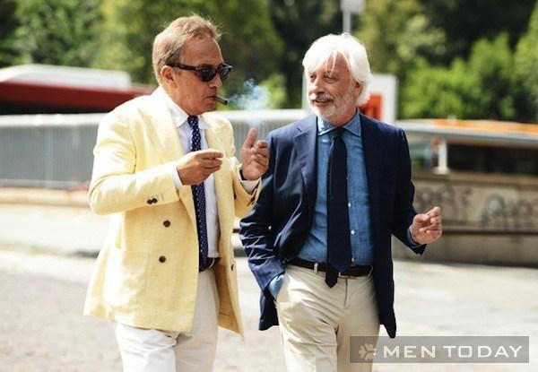 Những quý ông lịch lãm cùng màu pastel