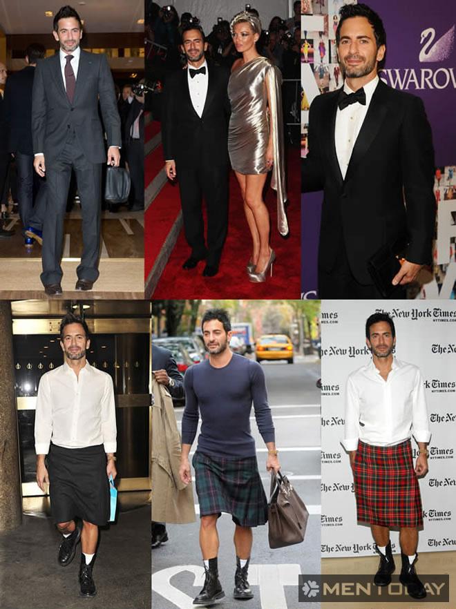 Phong cách thời trang Marc Jacobs