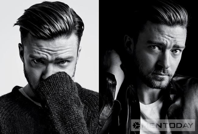 Justin Timberlake và kiểu tóc Pompadour