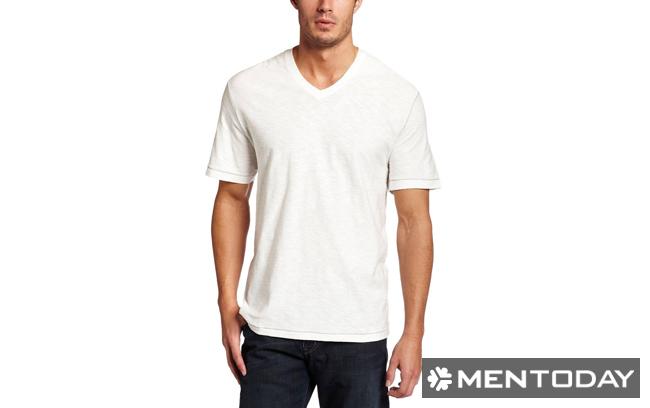 Mẫu t-shirt cổ chữ V cơ bản