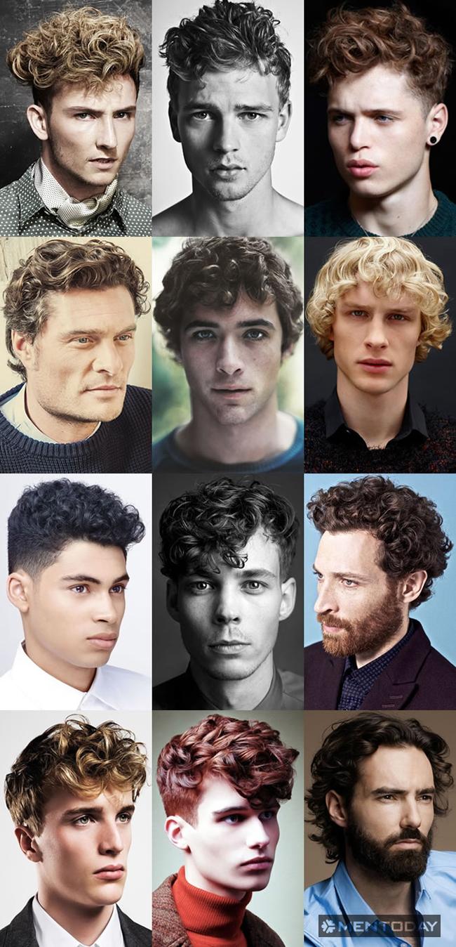 Kiểu tóc xoăn cho nam giới